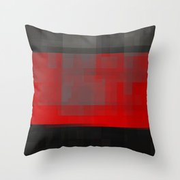 never really Throw Pillow