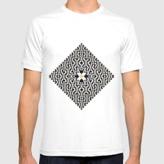 Heart of GO(L)D Mens Fitted Tee White SMALL
