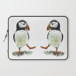 Dancing puffin Laptop Sleeve