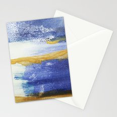 PAINTED WITH THE BLUES Stationery Cards