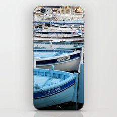 Boats of Cassis, Cote d'Azur French Riviera iPhone & iPod Skin
