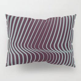OpArt WaveLines 1 Pillow Sham