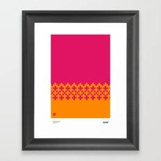 Jacquard 01 Framed Art Print