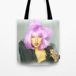 Lady G Tote Bag