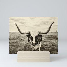 Lone Lonhorn Mini Art Print