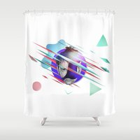 doctor Shower Curtains featuring Doctor Who - 10th Doctor by thedrunknown