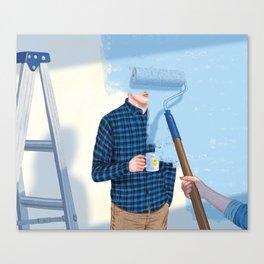 Un-Renovatable Relationship Canvas Print