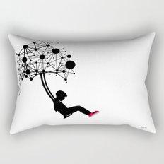 the Swingset Rectangular Pillow