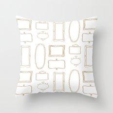 Frames Throw Pillow