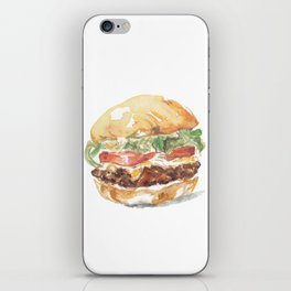 A burger iPhone Skin