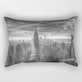 New York City View Rectangular Pillow