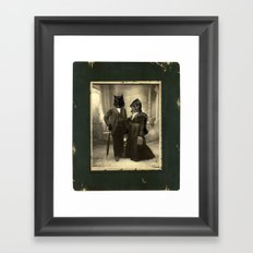Mr Wolf & Lil Red Framed Art Print