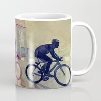 takmaj Mugs featuring Tour de France by takmaj