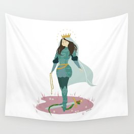 Our Lady's Armory Wall Tapestry