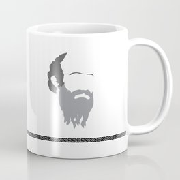 Diogenes. Ancient Greek Philosophers Quote. Coffee Mug