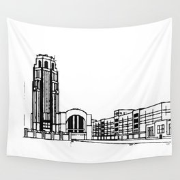 The Buffalo Central Terminal Wall Tapestry