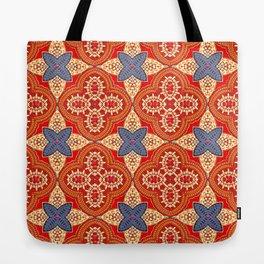 Moroccan Motet Pattern Tote Bag