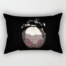 A View Rectangular Pillow