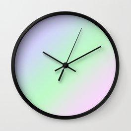 Ombre. Gradient Wall Clock