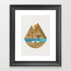 The Nile Framed Art Print