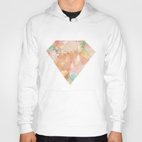 diamonds Hoodies featuring Diamonds by Zeke Tucker