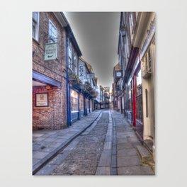 Shambles York Canvas Print