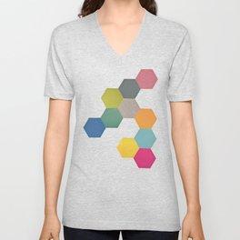 Honeycomb I Unisex V-Neck