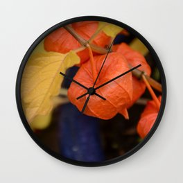 Autumn little jewels Wall Clock
