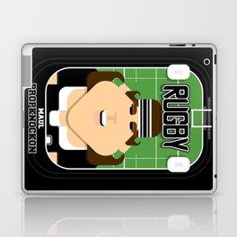 Rugby Black - Maul Propknockon - June version Laptop & iPad Skin