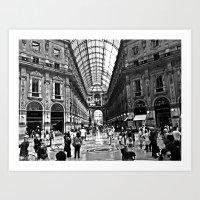 milan Art Prints featuring Milan by Gianluca Testa