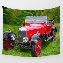 AC Classic Car Wall Tapestry