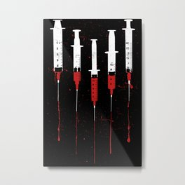 Needles Metal Print