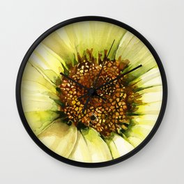 Daisy Disc Florets Wall Clock