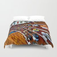 runner Duvet Covers featuring Runner by LeicaCologne Germany