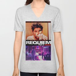 Requiem for a Tuesdays Movie Poster (Parks and Rec) Unisex V-Neck