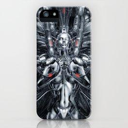 Maiden In The Machine iPhone Case