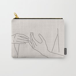 Abstract Line Art Carry-All Pouch