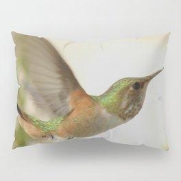 Ms. Hummingbird Checks Another Nectar Source Pillow Sham