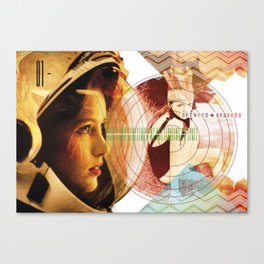 MUSICAL SEASONS. CLIPPINGS UNTITLED (series) Canvas Print