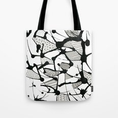 Ink Doodles Tote Bag