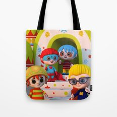 Turtle Boy's Gang Tote Bag