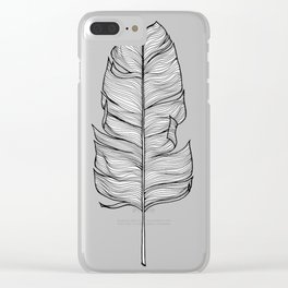 Feather Clear iPhone Case