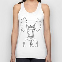 moose Tank Tops featuring Moose by Compassion Collective