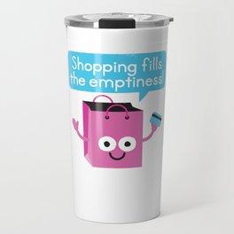 Retail Therapy Travel Mug