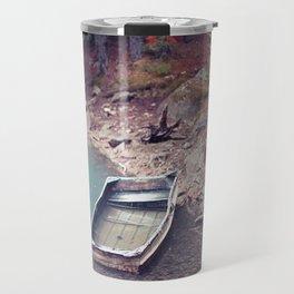 Abandoned Boat Travel Mug