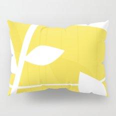 Vine in Yellow by Friztin Pillow Sham