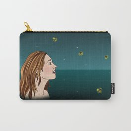 Swimming With Fireflies Carry-All Pouch