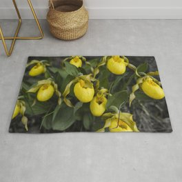 Lady Slippers Rug