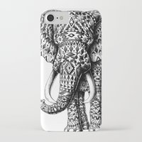 ornate elephant iPhone & iPod Cases featuring Navajo Elephant by BIOWORKZ