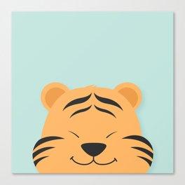 Tiger Smiles Canvas Print